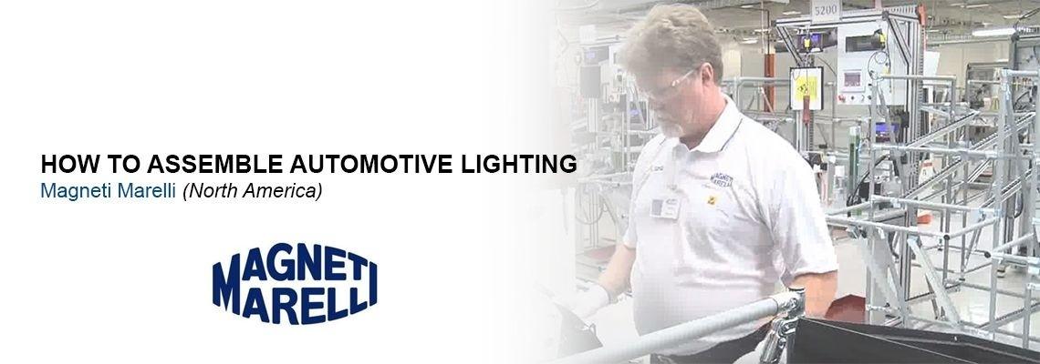 Ako Magneti Marelli vyrába osvetlenie pre automobilový priemysel?