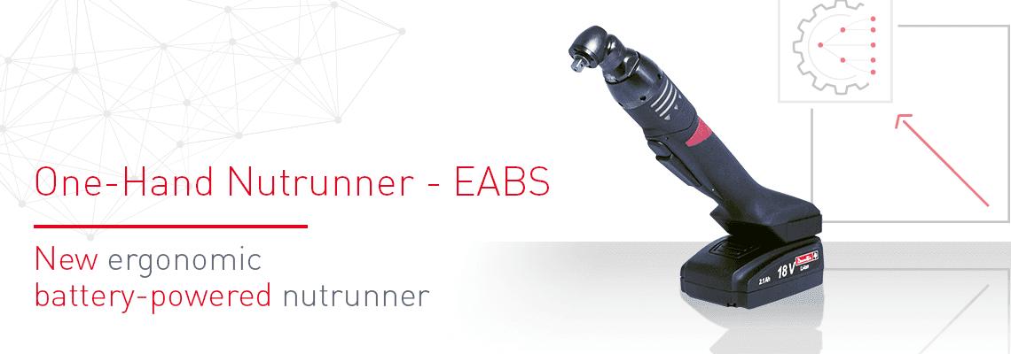 Nový ergonomický akumulátorový uťahovač: EABS