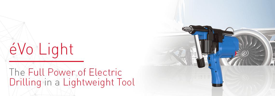 Nové poloautomatické elektrické náradie pre vŕtacie aplikácie: éVo Light