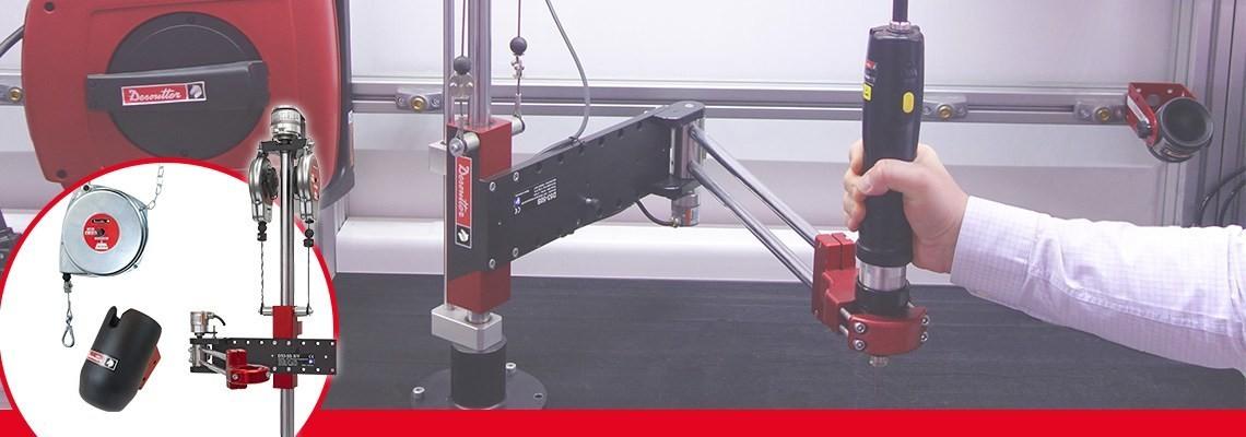Spoločnosť Desoutter Industrial Tools poskytuje vysokokvalitné a výkonné náradie aj príslušenstvo. Ak chcete doplniť alebo optimalizovať svoje náradie, kontaktujte nás.