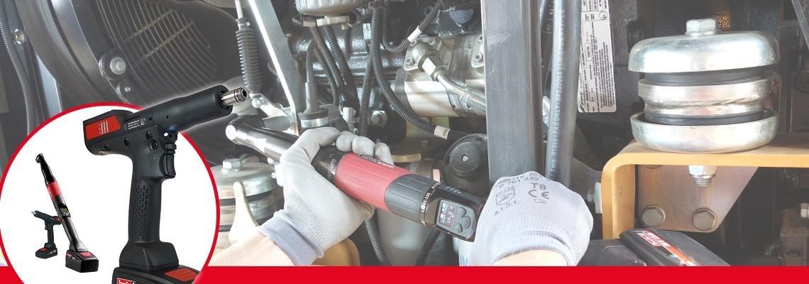 Zoznámte sa s radom produktov B-Flex od spoločnosti Desoutter Industrial Tools. Optimalizujte svoje montážne postupy pomocou samostatného uhlového akumulátorového náradia s prevodníkom / akumulátorového náradia s rukoväťou v tvare pištole s prevodníkom.