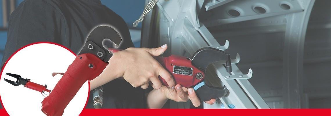 Spoločnosť Desoutter Industrial Tools vyrába kompletný sortiment pneumatického kompresného náradia pre automobilový a letecký priemysel. Vyžiadajte si cenovú ponuku alebo prezentáciu!