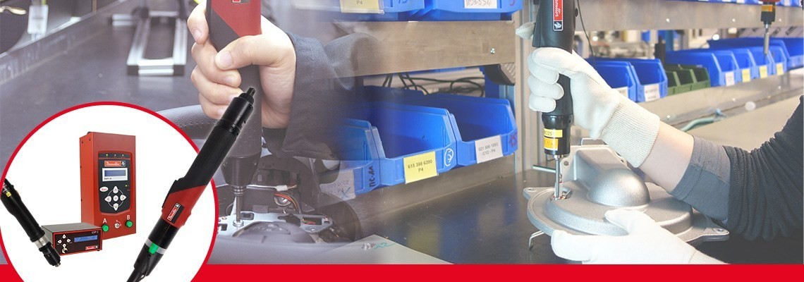 Zoznámte sa so sortimentom elektrických skrutkovačov spoločnosti Desoutter Industrial Tools. Výkonné a jednoduché na používanie. Kontaktujte nás a vyžiadajte si viac informácií o našich elektrických skrutkovačoch SLK a vysokovýkonných elektrických skrutkovačoch SLE.