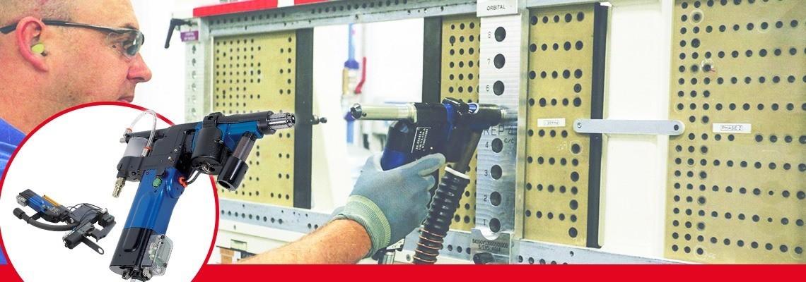 Pokročilé pneumatické vŕtacie jednotky od spoločnosti SETITEC Line sú určené na poloautomatické vŕtacie postupy pre montážne zariadenia v leteckom priemysle.