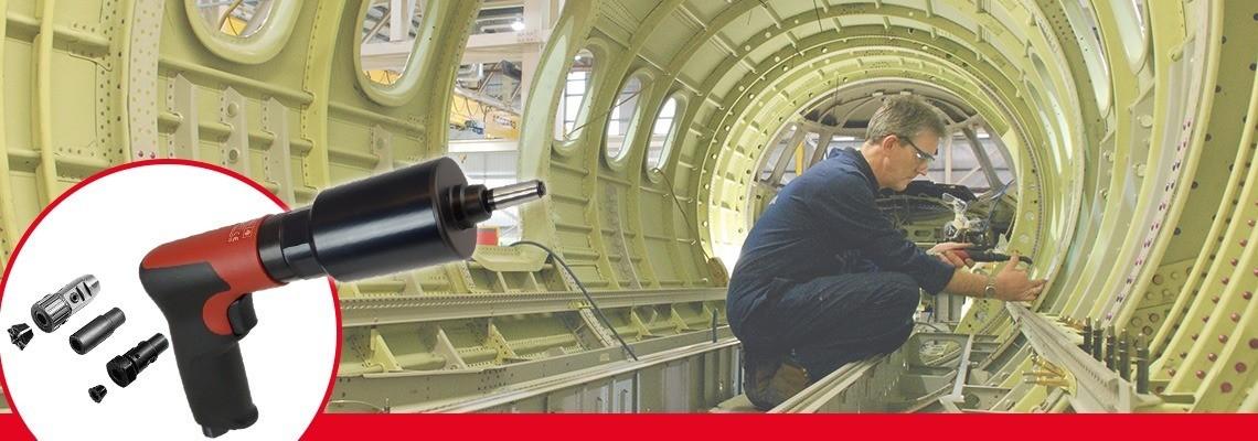 Zoznámte sa ručnými pneumatickými závitníkmi alebo závitníkmi namontovanými v stojane od spoločnosti Desoutter Industrial Tools so spúšťaním pomocou stlačenia spúšte alebo prepínania smeru tlačidlom. Vyžiadajte si cenovú ponuku alebo prezentáciu!