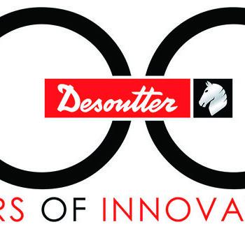 Logo pri príležitosti 100. výročia založenia spoločnosti Desoutter