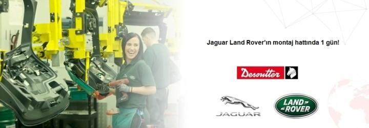 Užite si deň na montážnej linke spoločnosti Jaguar Land Rover!